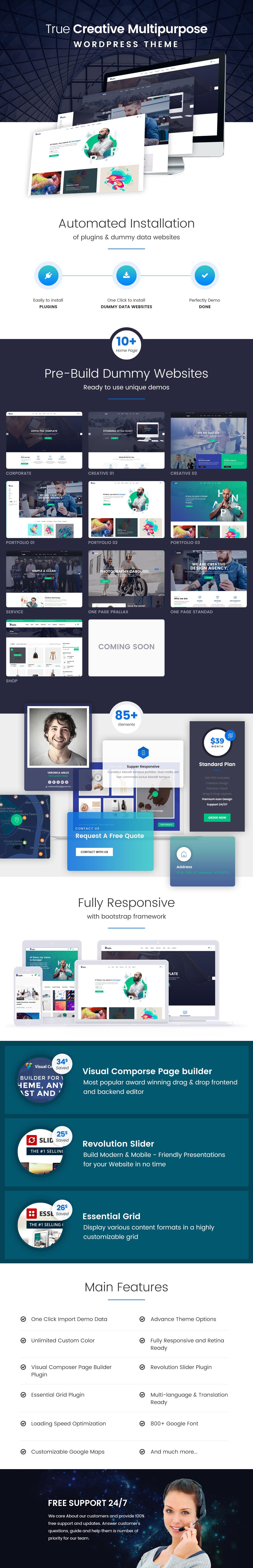 Doyle - Creative Multipurpose WordPress Theme - 2